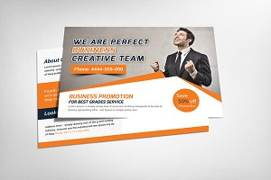 Creative Business Postcard Template