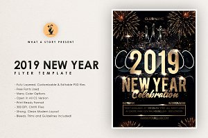 2 2019 new year by what a story in templates