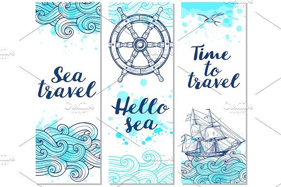 Marine Travel Backgrounds