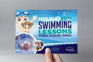 Swimming Pool Flyer Template