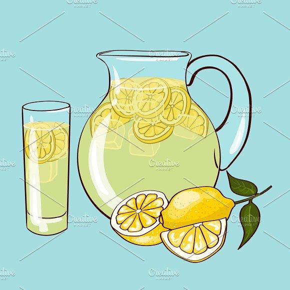 Flat Lemonade Composition