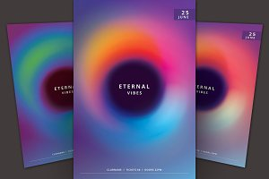 Eternal Vibes Flyer