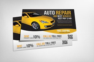 Automotive Flyer Template