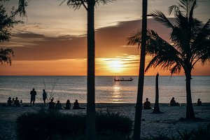 Ottress Beach Sunset Pretty