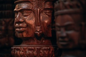 Wooden Statue for Sale