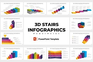 Stairs Diagrams PowerPoint