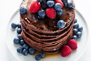 chocolate pancake breakfast for panc