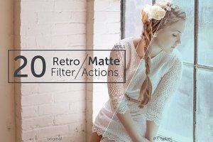 20 Retro Matte Filters