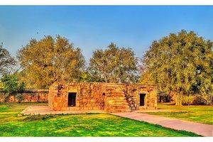 Bu Halima Tomb at the Humayun Tomb Complex in Delhi, India