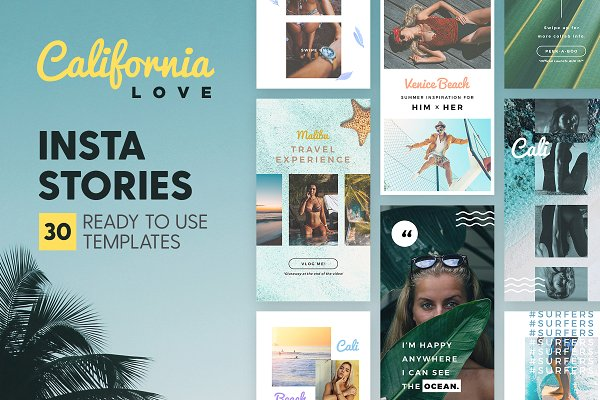 Instagram Stories - California Love