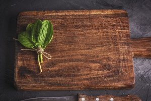 vintage kitchen cutting board
