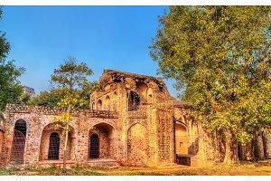 Arab Ki Sarai Gateway at the Humayun Tomb Complex in Delhi, India