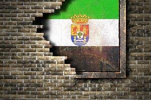 Extremadura spanish community flag