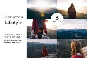 Mountain Lifestyle Photo Bundle