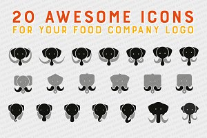 Mammoth Icon for Logo