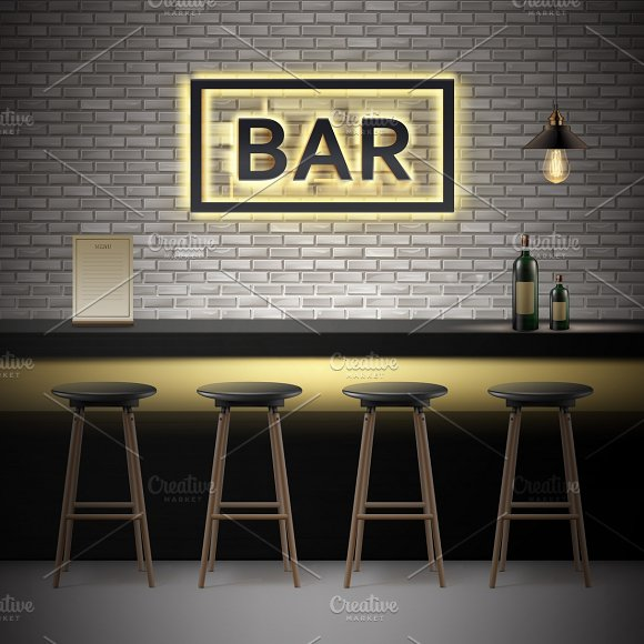 Bar Pub Interior