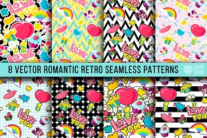 Retro Romantic Patterns