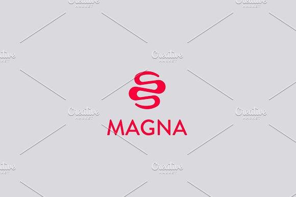 Abstract Ribbon Snake Dragon Logo Design Medical Vector Logotype
