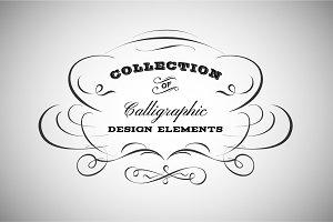 Vintage Calligraphic Emblem / Logo