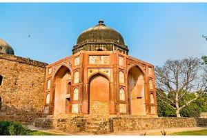 Afsarwala Tomb at the Humayun Tomb Complex in Delhi, India