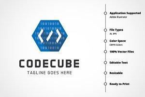 Code Cube Logo