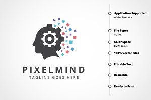 Pixel Mind Logo