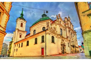 Minorite Church and Loreto Chapel in Brno, Czech Republic
