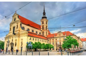 Church of St. Thomas in Brno, Czech Republic