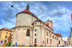 Catholic Church of Assumption of Our Lady in Brno, Czech Republic