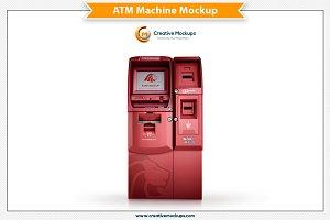 ATM Machine Mockup