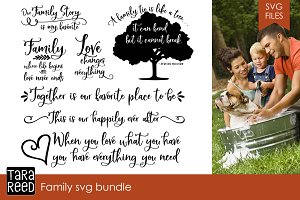 Family SVG Bundle