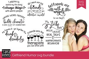 Girlfriend Humor SVG Bundle