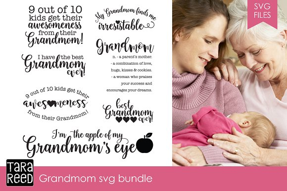 Grandmom SVG Bundle