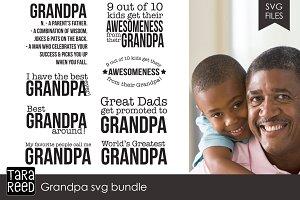 Grandpa SVG Bundle