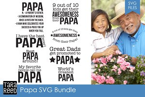 Papa SVG Bundle
