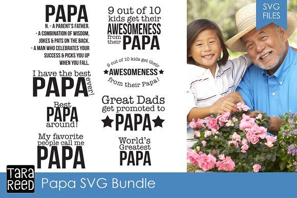 Papa SVG Bundle