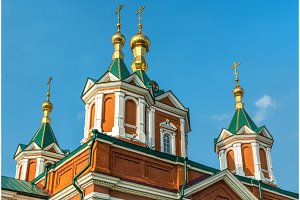 Cathedral of the Exaltation of the Holy Cross in Kolomna, Russia