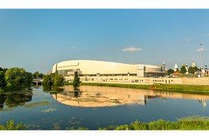 The Kolomna Speed Skating Center and the Kolomenka River - Russia