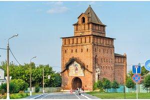 Pyatnitskie Gate at Kolomna Kremlin, Russia