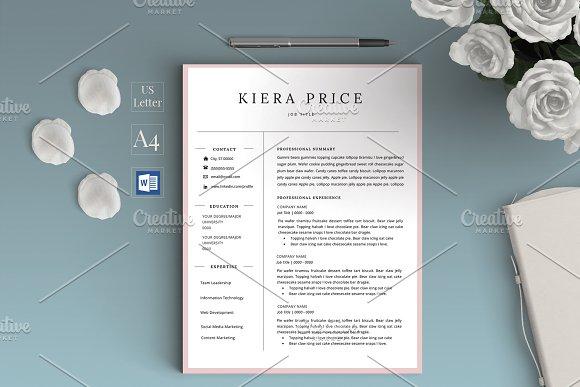 Word CV Resume Kiera