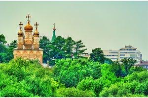 Orthodox church of the Transfiguration in Ryazan, Russia