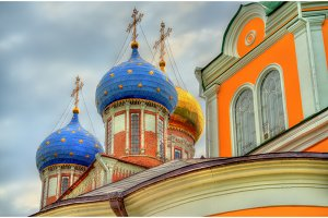 Assumption Cathedral of Ryazan Kremlin in Russia