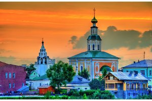 St. George church in Vladimir city, Russia