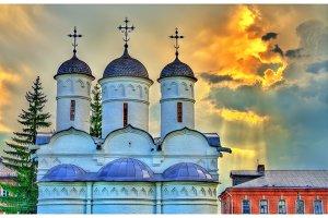 Rizopolozhensky monastery in Suzdal, Vladimir region, the Golden Ring of Russia