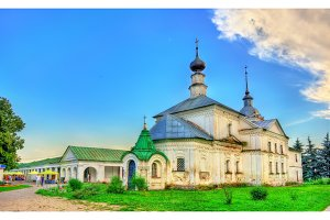 The Holy Cross church of St Nicholas in Suzdal, Russia