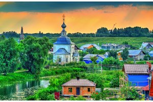 Churche of the Epiphany in Suzdal, Russia