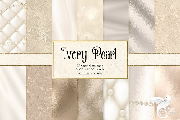 Ivory Pearl Textures