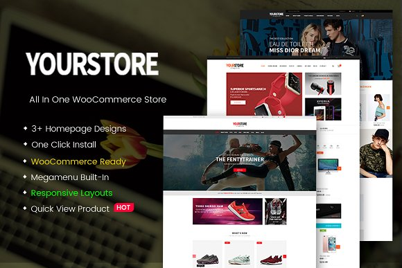YourStore WooCommerce Theme