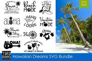 Hawaiian Dreams SVG Bundle