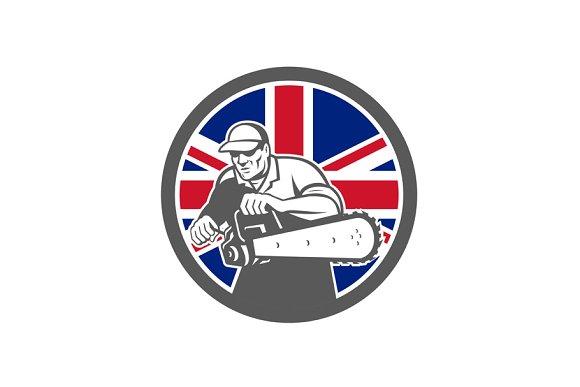 British Arborist Union Jack Flag Ico